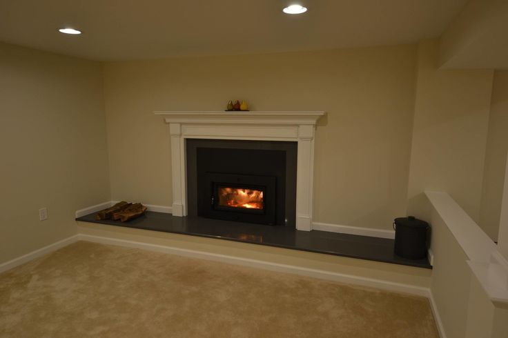 Basement fireplace ideas basement finishing and basemen remodeling ideas fireplace - Fireplace finish ideas ...
