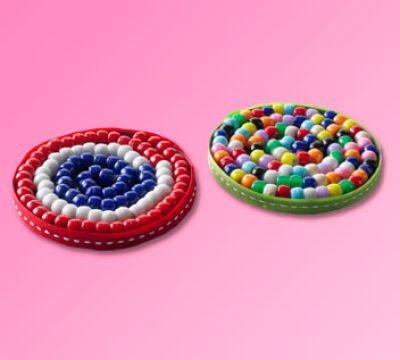Beaded Coasters