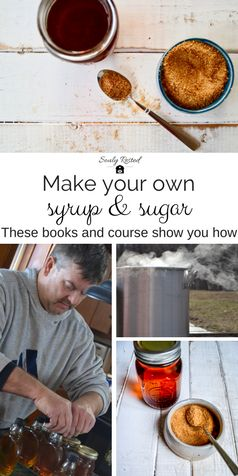 #maplesyrup | #maple | DIY maple syrup | backyard syrup | instructional ebooks and instructional video course on how to make backyard maple syrup | tap to table | all-natural sugar