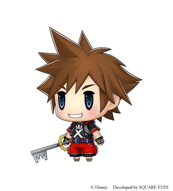 Sora from Kingdom Hearts Will Be Coming to World of Final Fantasy | The World of GirlNerdyGamer