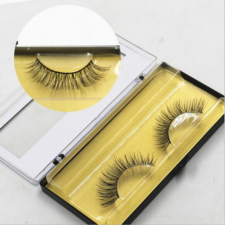 Free shipping 100% handmade real mink fur false eyelash 3D strip mink lashes thick fake eyelashes Makeup beauty