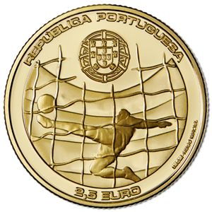 Portugal 2014 FIFA world Cup Coin