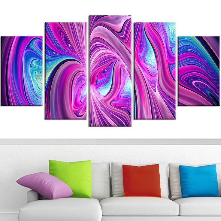 Design Art 'Pink and Wonder' Contemporary Canvas Art