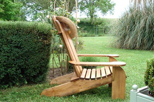fauteuil en bois de recup. plans fournis.