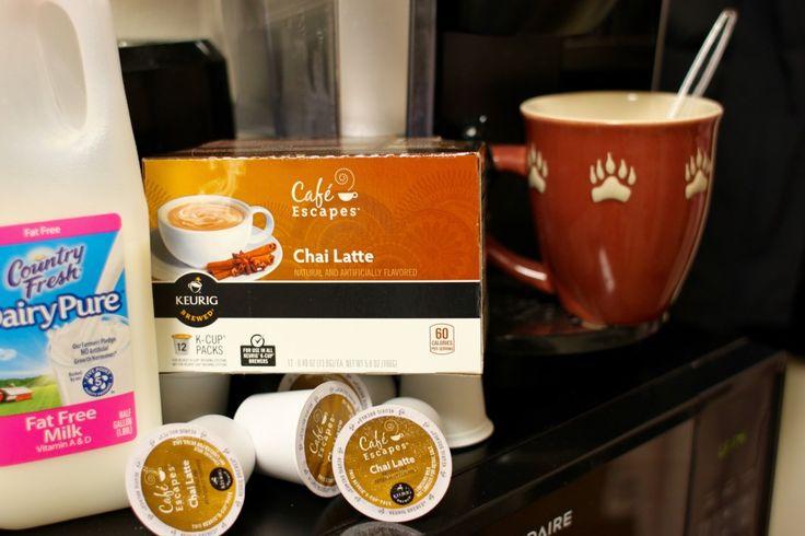 Starbucks Lattes Made in a Keurig Life Hack