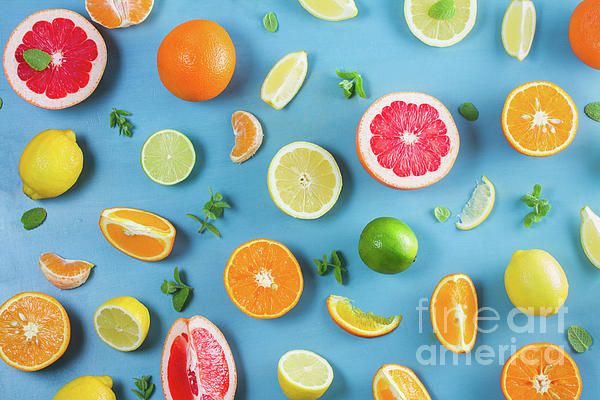 #Citrus Summer #pattern by #AnastasyYarmolovichPhotography https://fineartamerica.com/featured/citrus-summer-anastasy-yarmolovich.html?newartwork=true #food