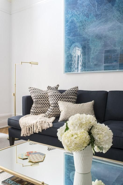 Super easy ideas to decorate the living room in your very first apartment