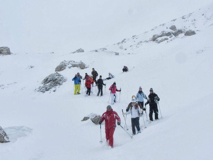 **Scuola Sci di Fondo Alta Badia (snowshoeing) - San Cassiano, Italy