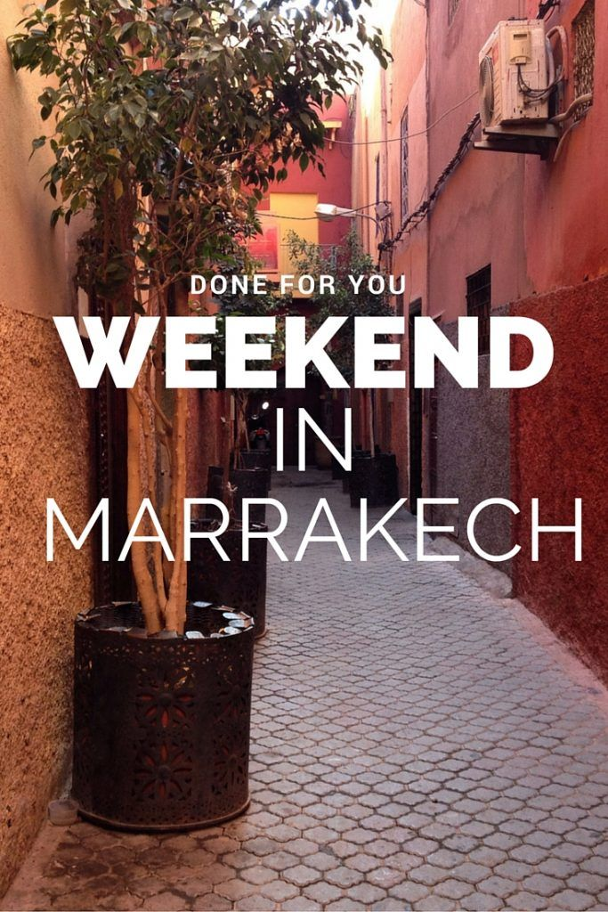 If you have one weekend to spend in Marrakech, Morocco, remove the stress from planning and let us share our favorite riad, hammam and food picks (plus more!) for the perfect stay.
