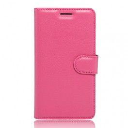 Huawei P9 Lite pinkki puhelinlompakko.