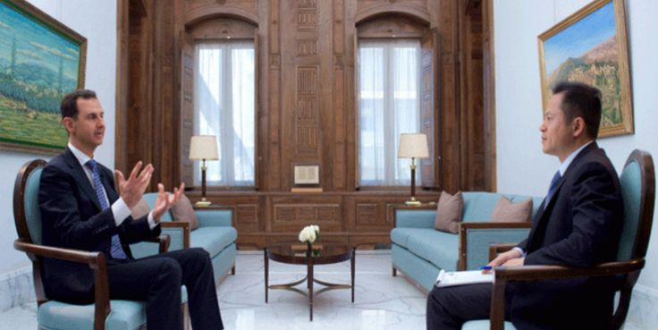 President al Assad to Chinese Phoenix TV: Foreign Troops without Permission Are Invaders | Syria News