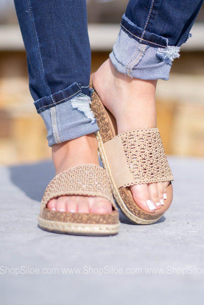 Elm Natural SlipOn Sandal Slip on sandal, Sandals, Slip on