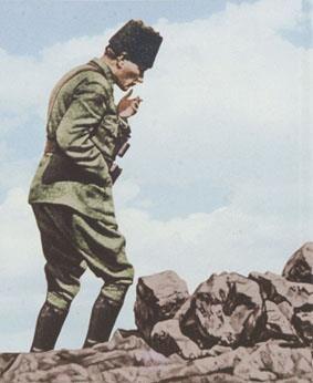 Başkomutan Mustafa Kemal ATATÜRK.