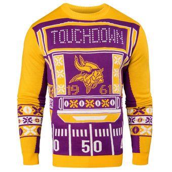 f88ed9170 ... Minnesota Vikings Purple Light-Up Ugly Sweater vikings nfl minnesota  Nike Minnesota Vikings Womens Critical Victory NFL T-Shirt ...