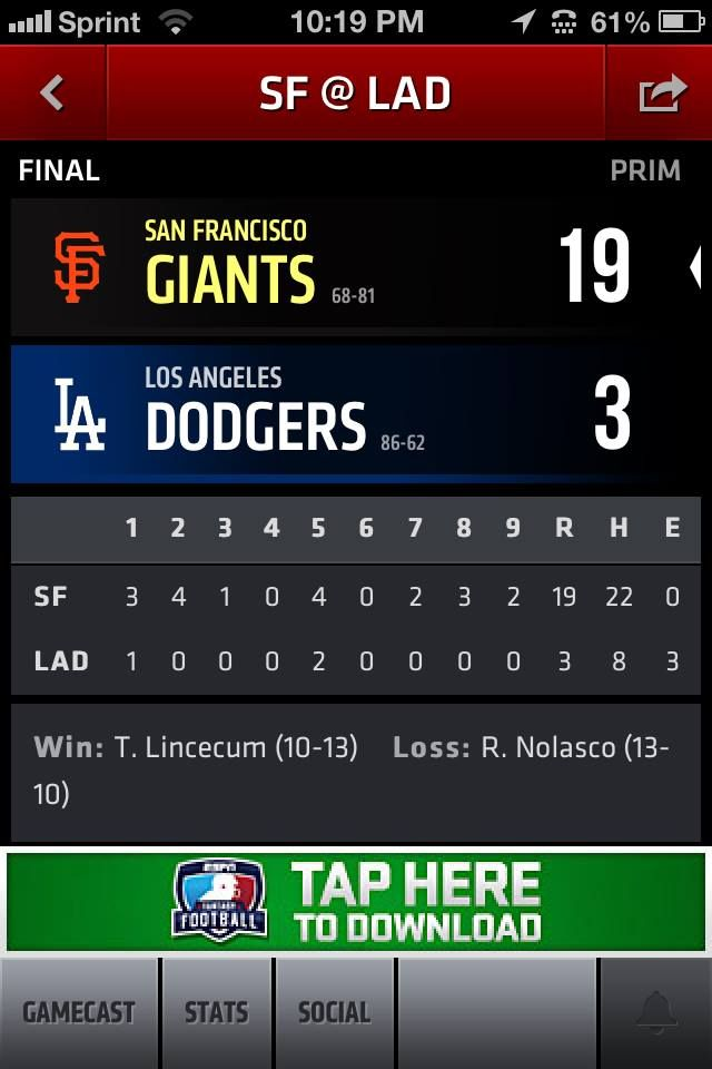 dodgers giants father's day