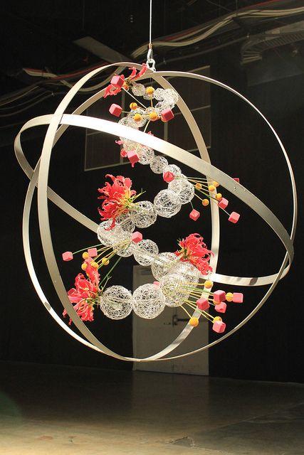 big floral Arrangement - großes Blumenarrangement
