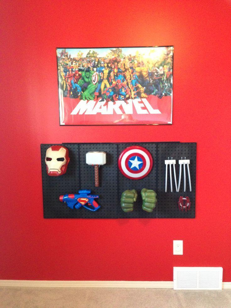 Superhero Room Design: 68 Best Super Hero Decor Images On Pinterest