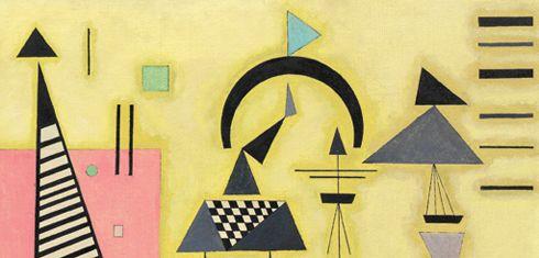 Kandinsky at the Bauhaus- Guggenheim, NYC