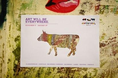 CowParade Santa Catarina: Art Will Be Everywhere