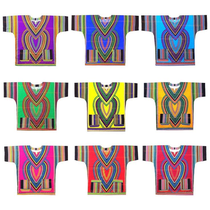 HEART Dashiki Boho Tribal Shirt African Vintage Hippie Blouse Women Blouse S M L #Handmade #Dashiki