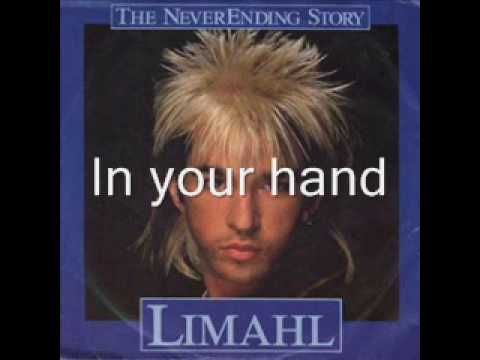 Never Ending Story - Limahl (with lyrics) One of the only 1980s pop songs I actually like, probably because the film was my absolute favorite from age 10 - I watched it over and over again when it aired on channel 11.