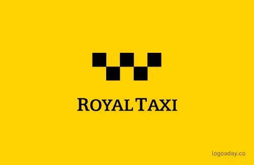 Royal Taxi | Logo a Day