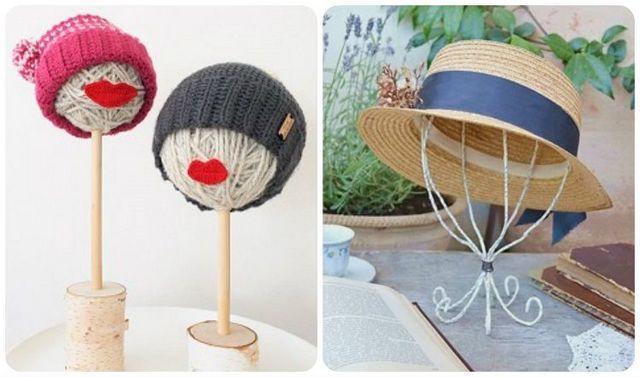 Come realizzare degli espositori per cappelli fai da te video tutorial.  Due tutorial utili