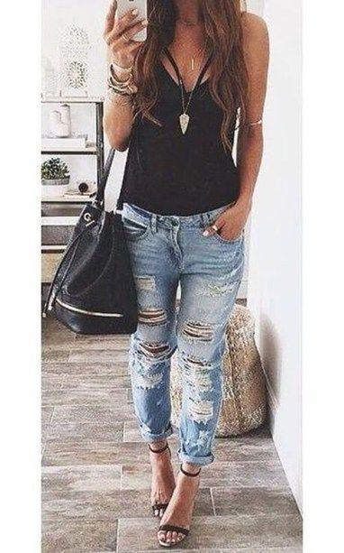 2dfd6c16a786 Cool And Casual Summer Outfits Ideas 28 | My Style in 2019 | Casual ...