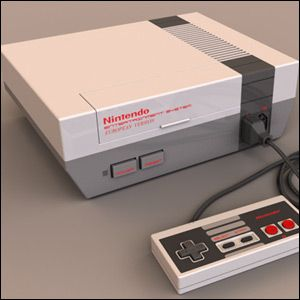 Nintendo NES... My sisters and I never had our own gaming system but my cousins did... we'd stay up all night playing when we would visit.
