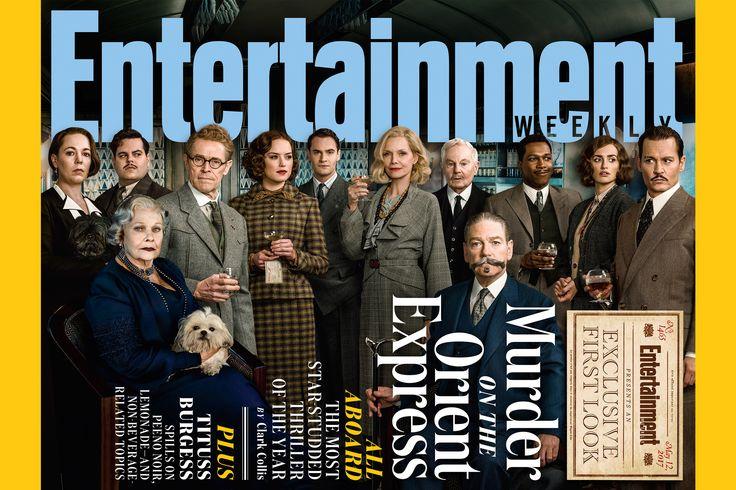 Johnny Depp, Daisy Ridley, and Michelle Pfeiffer board Kenneth Branagh's murder-mystery.