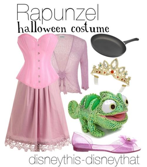 """Rapunzel Halloween Costume"" - holiday  DisneyThis-DisneyThat on Tumblr"