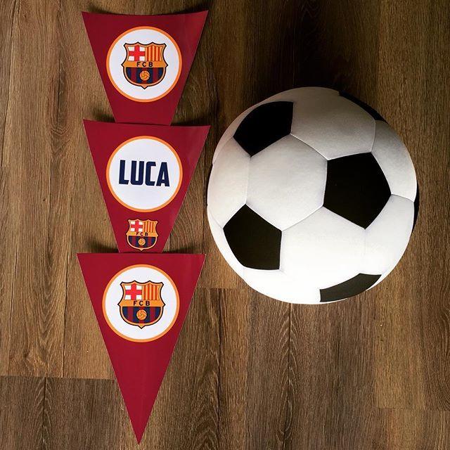 Preparativos para Festa do Luca! Hoje a noite é inspirada no Barcelona, muita alegria e diversão!!!#festadopijama#sleepover#teepee#kids#kidsparty#onlyboys#cabanas#diversão#crazyfortents