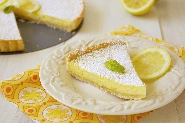 Французский лимонный тарт Вкуснолог...   Вкуснолог...