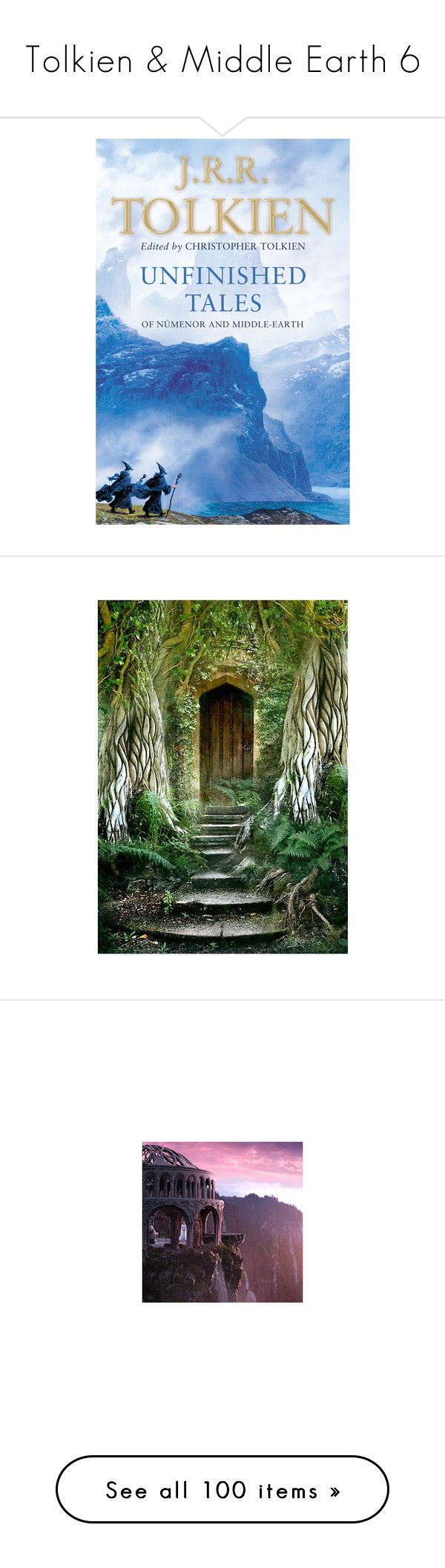 """Tolkien & Middle Earth 6"" by ameve ❤ liked on Polyvore featuring backgrounds, pictures, places, photos, images, filler, lotr, fantasy, scenery and costumes"