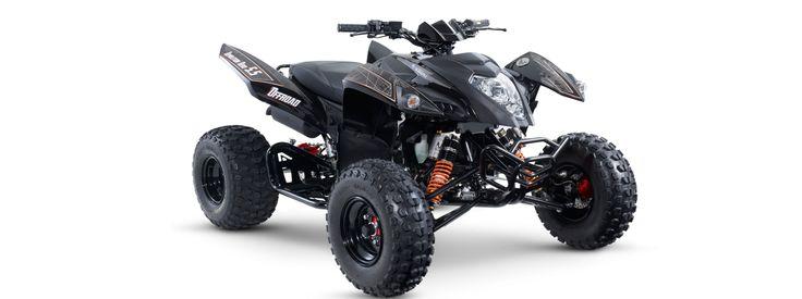 Demolition 5.5 NERO SUPER OFF-ROAD SPORT QUAD ATV