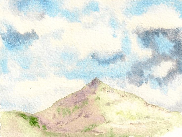 Sugar loaf Watercolour