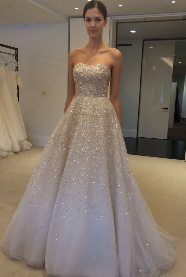 Best 25 sparkly dresses uk ideas on pinterest blue sparkly wedding dresses that sparkle see more carolina herrera fall 2015 ombrellifo Images