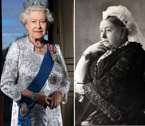 Isabel II y Victoria de Inglaterra | Realeza / Royalty ...