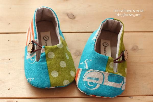 DIY Baby shoe pattern!