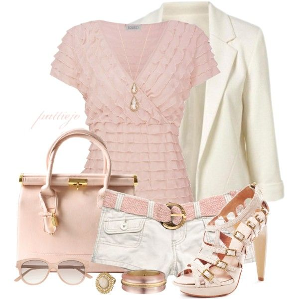 Summer OutfitPink Summer, Summer Outfit, Soft Pink, Pink Outfit, Pale Pink, Shorts Stories, Cute Outfit, White Jeans, Stylish Outfit