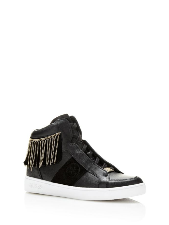 EUR145.00$  Buy here - http://vieyw.justgood.pw/vig/item.php?t=t8iqs64017 - GHARAM SNEAKER WITH FRINGES