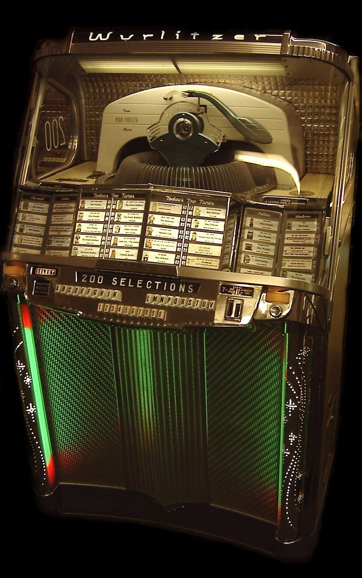 My parents loved to have Disco Dancing parties...we had a Jukebox in basement...I loved watching the 45's go in and out of spots!