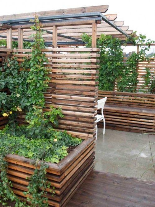 takterrasse-plantekasse | plantekasse | Pinterest