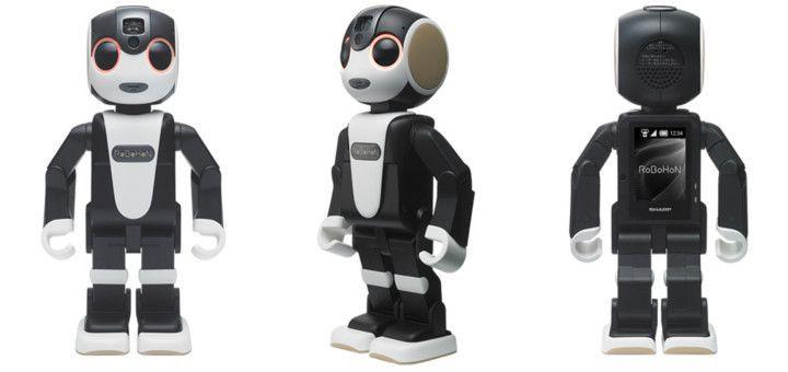 Robotelul RoBoHon imbina cu succes conceptul unui smartphone modern cu functiile unui asistent virtual.