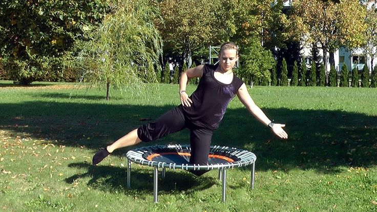 Pilates exercises on the bellicon rebounder