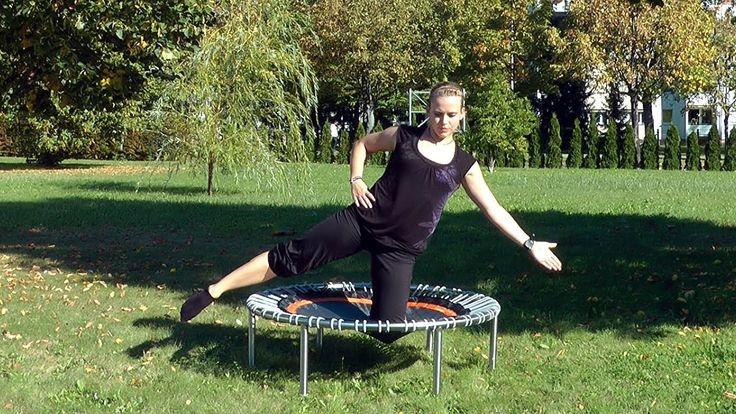 Übungsbeispiele Rumpf- und Pilatestraining auf dem bellicon® Trampolin