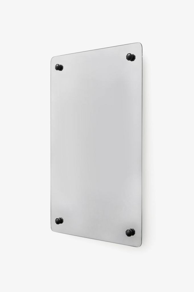 Discover Montgomery Metal Rectangular Wall Mounted Stationary Mirror 20