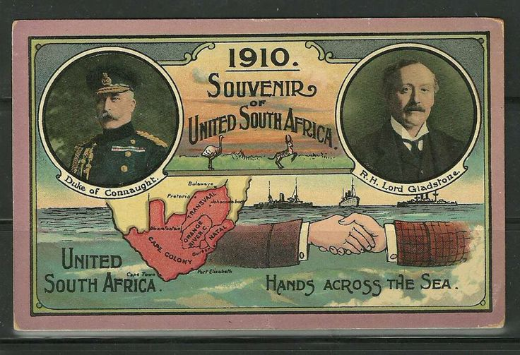 Other Antiques & Collectables - RARE Union 1910 Postcard Souvenir of South Africa!!! Unused!!! was sold for R161.00 on 3 Apr at 19:01 by Zen...