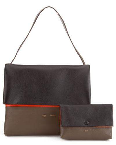 Celine 'All Soft'  Leather Shoulder Bag