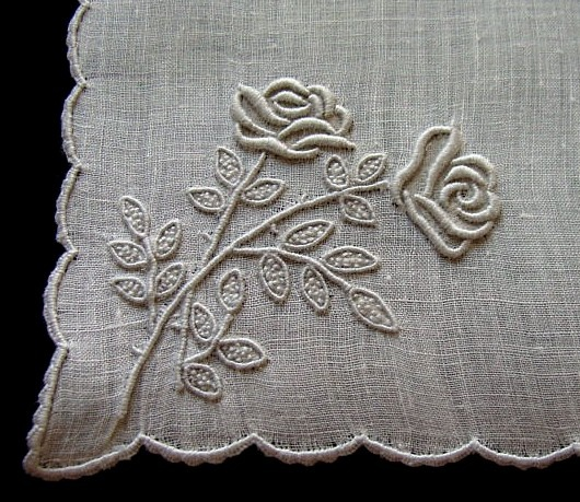 Madeira Embroidery - Marghab Roses